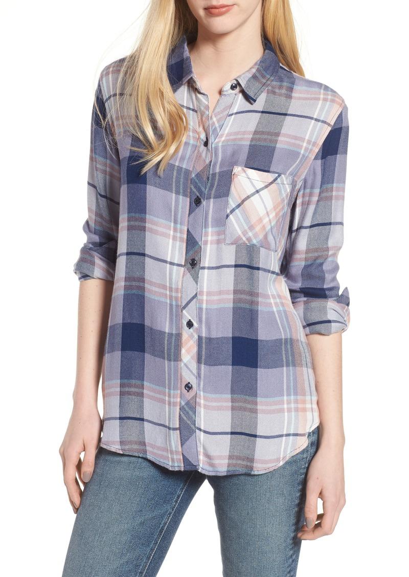 54167f1f64d7e Rails Rails Hunter Plaid Shirt