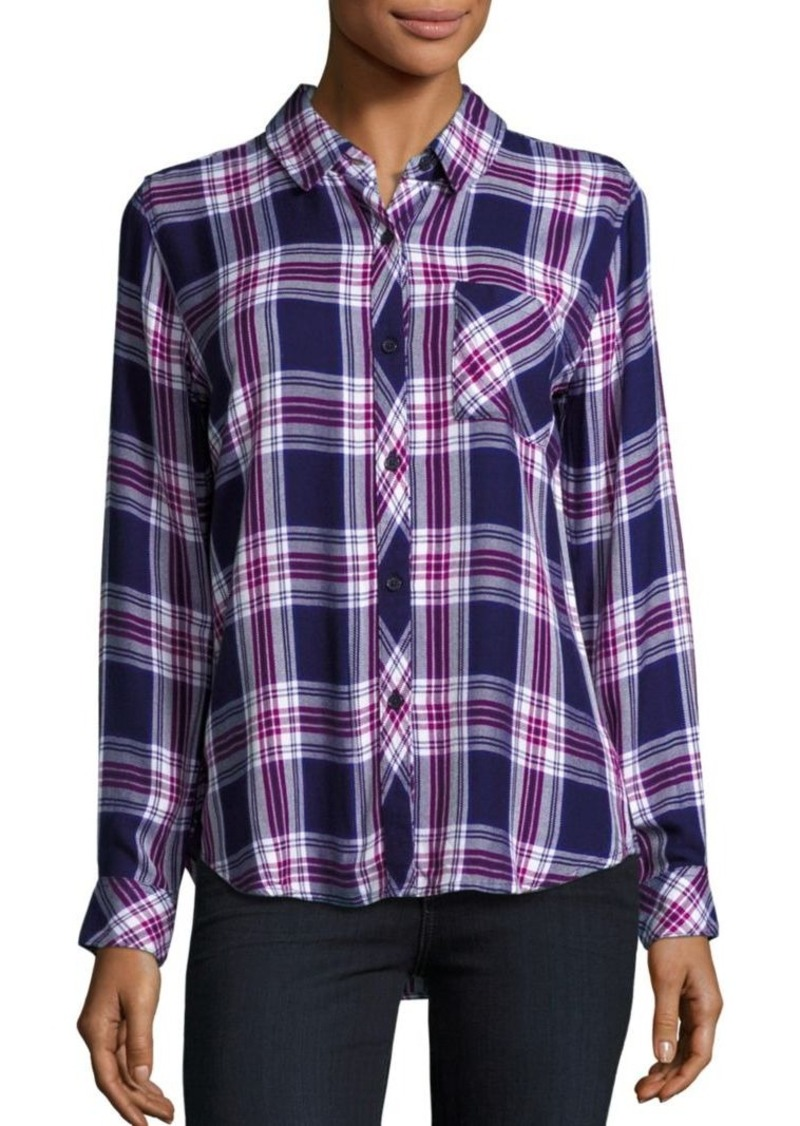 Rails Hunter Plaid Top