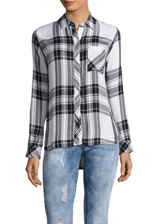 Rails Hunter Windowpane Plaid Shirt