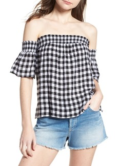 Rails Isabelle Off the Shoulder Top