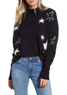 Rails Kana Star Detail Merino Wool & Cashmere Sweater