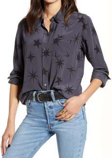 Rails Kate Butterfly Silk Shirt