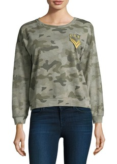Rails Kelli Military Patch Sweater