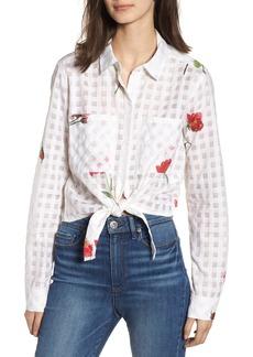 Rails Kelsey Tie Front Shirt