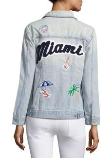 Rails Knox Miami Denim Cotton Jacket
