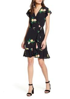 Rails Koreen Short Sleeve Wrap Dress