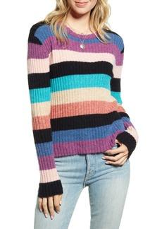 Rails Kylie Stripe Alpaca & Merino Wool Blend Sweater
