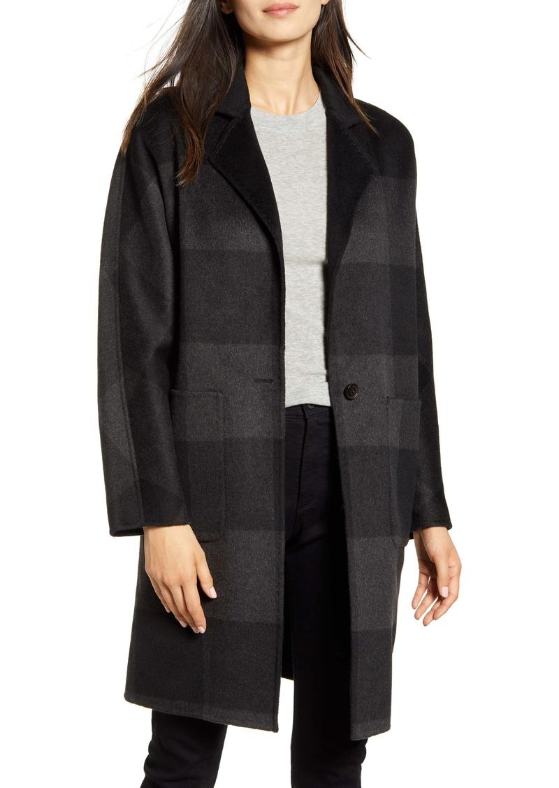 Rails Larsen Buffalo Plaid Wool Blend Coat
