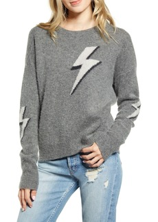 Rails Lightning Bolt Merino Wool & Cashmere Sweater