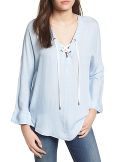 Rails Lily Lace-Up Top