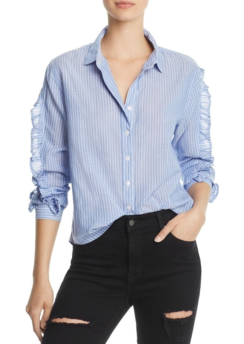 38d677c1ed12d6 Rails Rails Lizzie Ruffled Striped Shirt | Casual Shirts