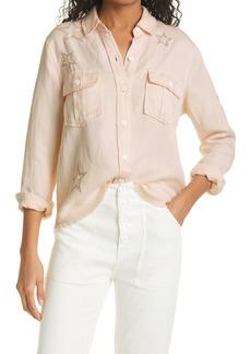 Rails Loren Star Embroidered Button-Up Shirt