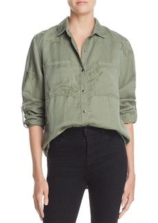 Rails Marcel Star Embroidered Utility Shirt