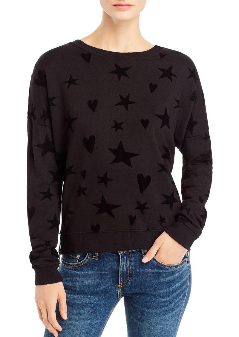 Rails Marlo Flocked Sweatshirt