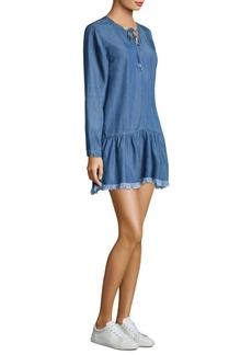 Rails Mel Drop-Waist Mini Dress