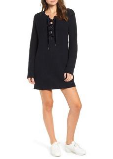 Rails Nicole Velvet Tie Sweater Dress