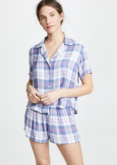 RAILS Short Sleeve Short PJ Set