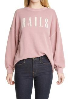 Rails Signature Cotton Blend Sweatshirt