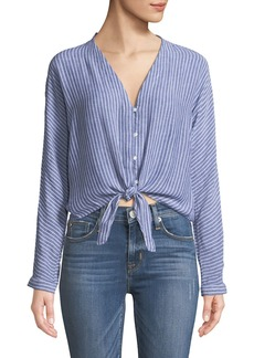 Rails Sloane Striped Linen Top