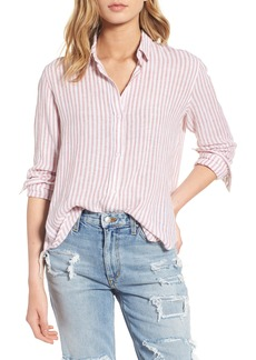 Rails Sydney Stripe Linen Blend Shirt