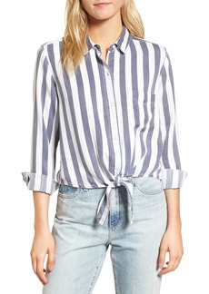 Rails Val Stripe Tie Front Top