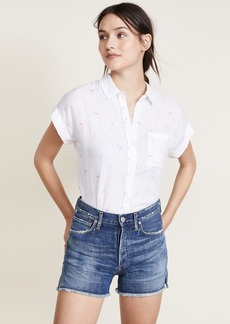 RAILS Whitney Button Down Blouse