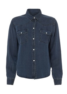 Rails Remi Western-Inspired Denim Shirt