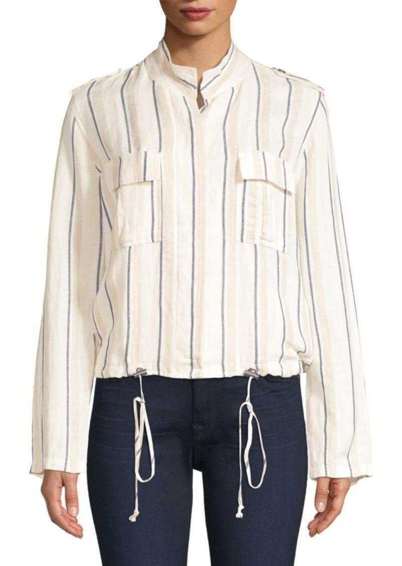 Rails Rowan Striped Army Jacket