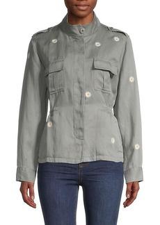 Rails Sahara Daisey-Print Safari Jacket