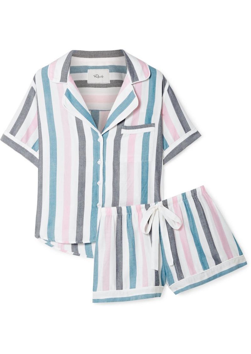 Rails Striped Voile Pajama Set