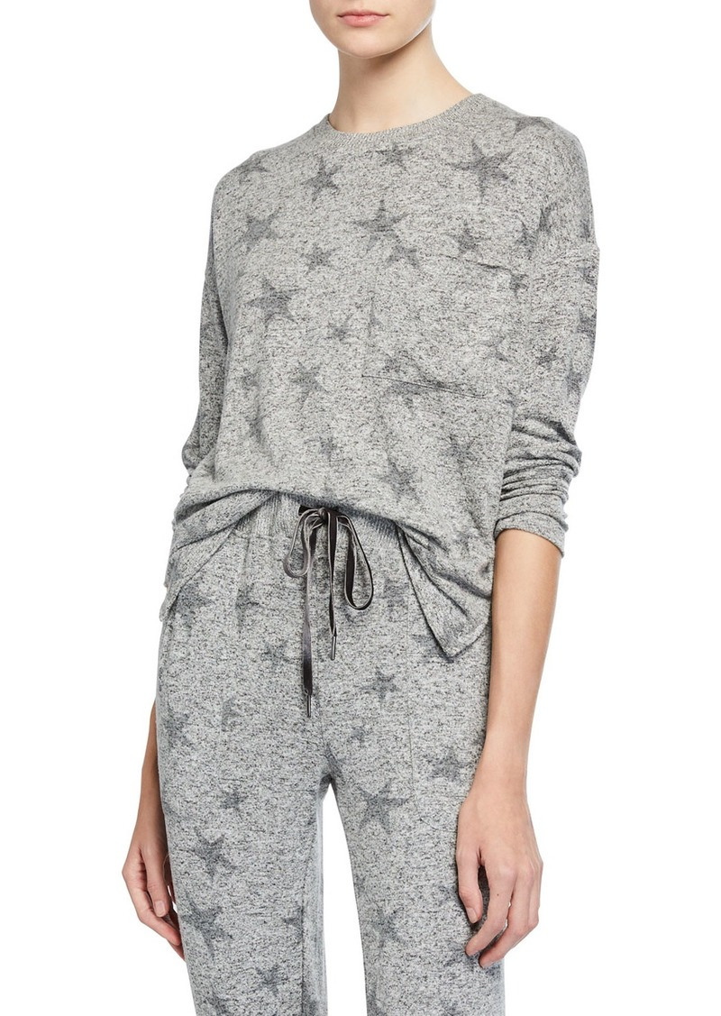 Rails The Star-Print Long-Sleeve Top