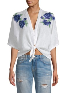 Rails Thea Embroidered Blouse