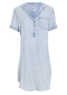 Rails Valerie Chambray Mini Shirt Dress