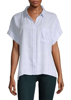 Rails Whitney Hi-Lo Button-Down Shirt
