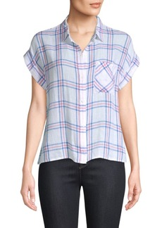Rails Whitney Stripe Short-Sleeve Top