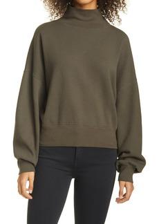 Women's Rails Blaire Blouson Sleeve Cotton Blend Sweatshirt