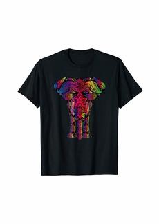 """Never Forget"" Rainbow Mandala Elephant LGBT T-Shirt"