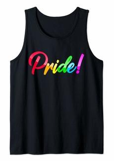 Pride! LGBT Rainbow Gay Tank Top