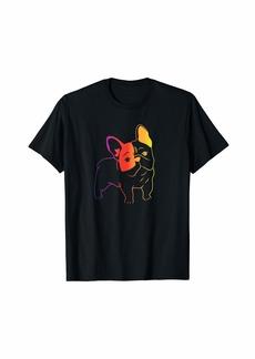 Rainbow French Bulldog T-Shirt