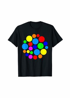 Rainbow Polka Dot September 15th International Dot Day T-Shirt
