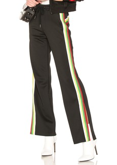Pam & Gela Rainbow Sportstripes Hi Waist Trouser