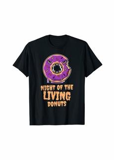 RAJ Funny Doughnut or Donut Lover Halloween Gift For Women Girls T-Shirt