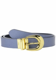"Ralph Lauren 1"" Saffiano to Smooth Reversible Belt"