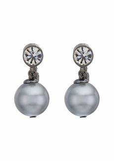 Ralph Lauren 12 mm Glass Pearl Drop Earrings