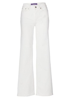 Ralph Lauren 143 High-Rise Wide-Leg Jean