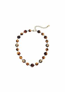"Ralph Lauren 16"" Crest Collar Necklace"