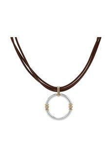 """Ralph Lauren 16"""" Link Pendant Necklace"""