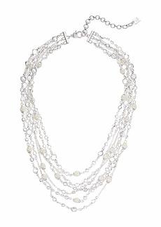 "Ralph Lauren 16"" Multi Row Collar Necklace"