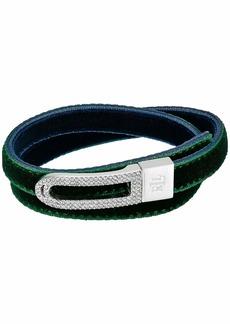 """Ralph Lauren 16"""" Velvet Wrap Bracelet"""