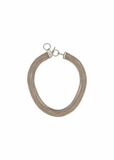 "Ralph Lauren 17"" Multi Row Collar Necklace"